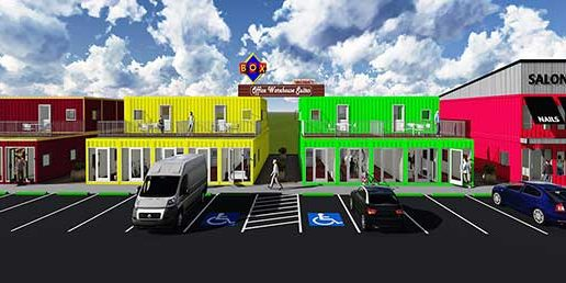 Container Apartments and Offices in Alliance Area | Box Office ...