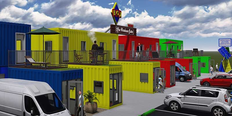 Inexpensive Storage Container Office For Lease Box
