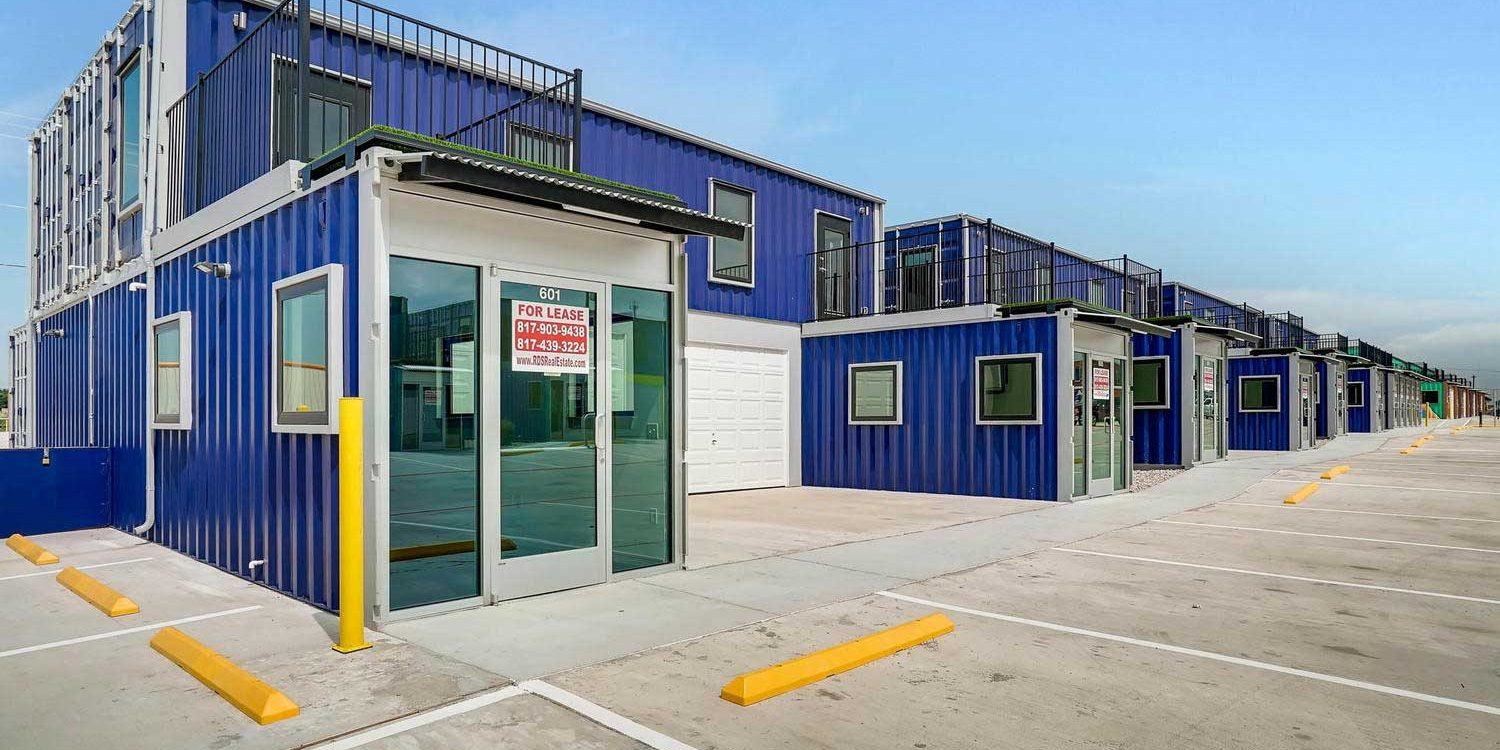 Storage Container Buildings Box Office Warehouse Suites