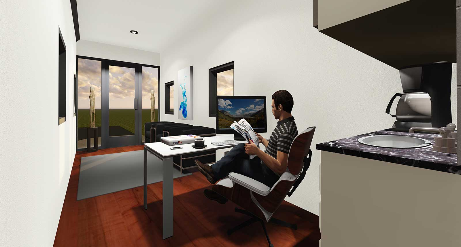 Office space box office warehouse suites - Small office space rental collection ...