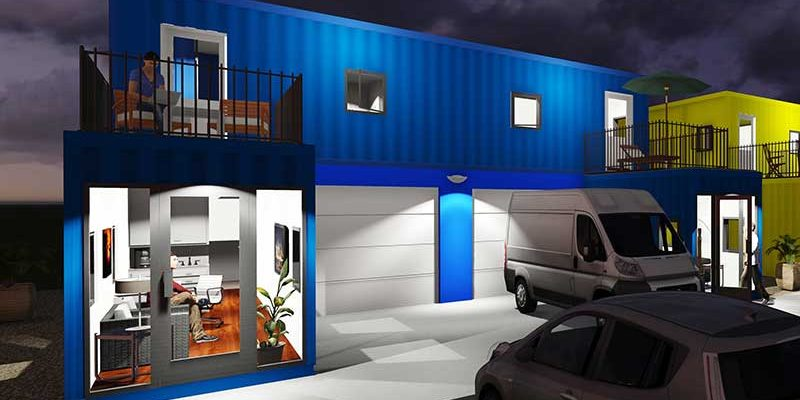 Small container homes and offices are the rage box office warehouse suites - Rent space for small business minimalist ...